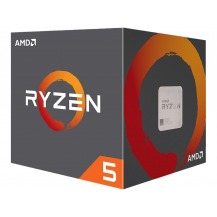 Procesador AMD RYZEN 5 2600 6-Core 3.4 GHz (3.9 GHz Max Boost) Socket AM4 65W