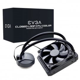 Disipador EVGA CLC 120 CL11 Liquid Water CPU Cooler Intel