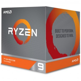 Procesador AMD Ryzen 9 3900X Am4 12-Core (Turbo 4.6GHz)