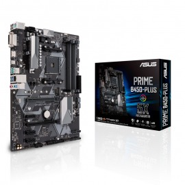 Motherboard ASUS PRIME B450 PLUS AMD AM4 4 x DIMM, Max. 128GB DVI-D HDMI