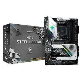 Motherboard Asrock X570 Steel Legend AMD AM4 4 x DDR4 DIMM Max. 128GB HDMI, DisplayPort