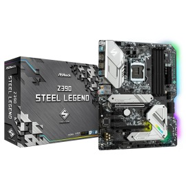 Motherboard Asrock Z390 Steel Legend Intel S-1151 4 x DDR4 DIMM Max. 128GB HDMI