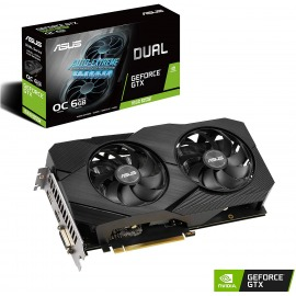 Tarjeta de Video Asus DUAL GTX1660 Super O6G EVO GDDR6 6GB
