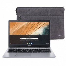 "Notebook Chromebook Acer 15.6"" Intel Dual Core 2.6Ghz"