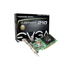 Tarjeta de video EVGA 210 Lp C/fan 1GB DDR3