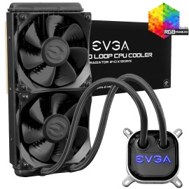 Disipador EVGA CLC 240 RGB LED CPU Liquid Cooler