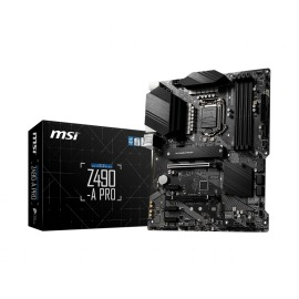 Motherboard Msi Z490-A PRO Intel S-1200 4 x DDR4 max 128GB HDM/DisplayPort