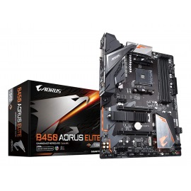 Motherboard Gigabyte AORUS B450M ELITE AMD AM4 4 x DDR4, max. 128GB HDMI, DVI-D