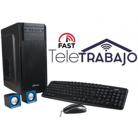 PC Torre  Intel Core i3-9100F 8GB 240GB SSD GT210 2GB