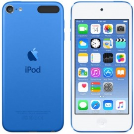 """Apple ipod touch 4"""" HD Chip A8 32GB (gris/azul)"""