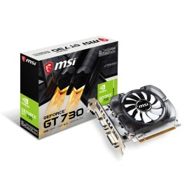 Tarjeta de video MSI GeForce GT 730 D3V3 2GB DDR3